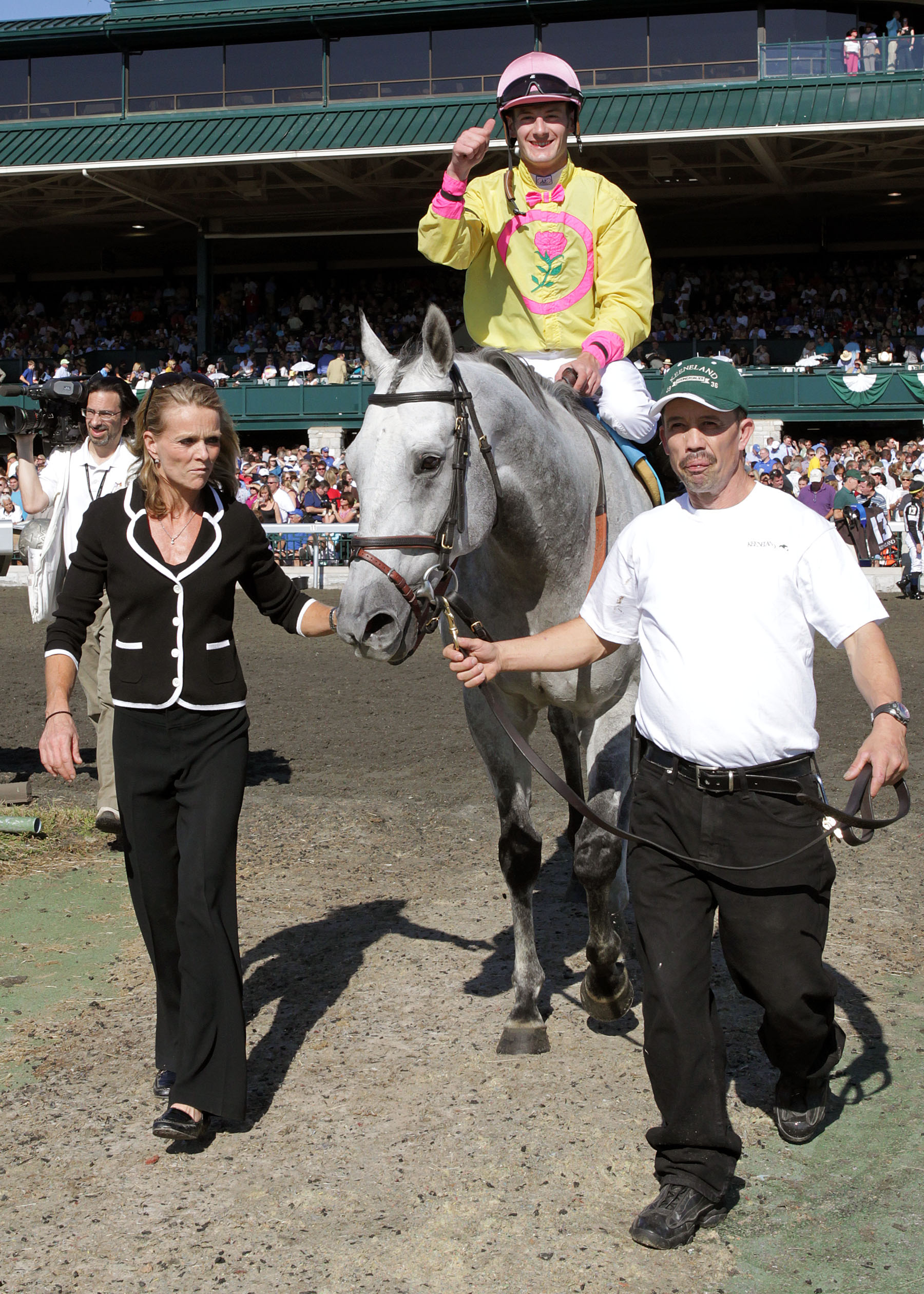 Silver Timber Surges To Repeat Tally In Keeneland S Grade