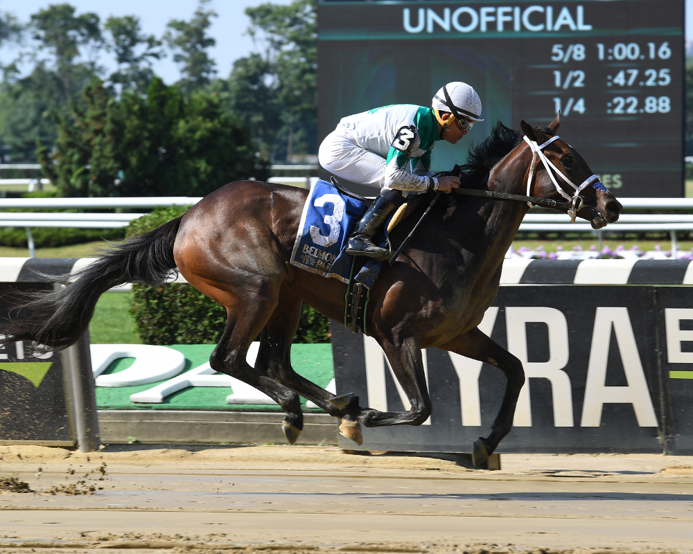 Aptly Named Maiden Beauty Wins Lynbrook At First Asking